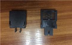 ST接口单纤光模块塑胶外壳